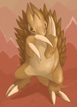 028: Sandslash by Rikkoshaye