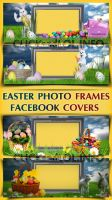 Easter Photo Frame Facebook Covers by silviubacky
