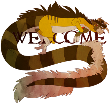 Feral Would Like to Welcome You by RocketMeowth