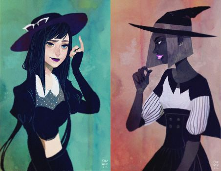 Witches by chuwenjie