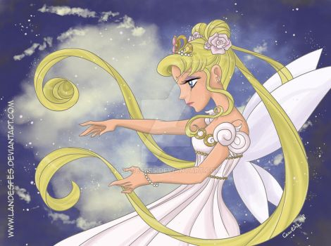 Princess Serenity by landesfes