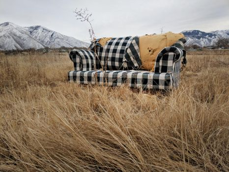 abandoned couch 8 by yellowicous-stock