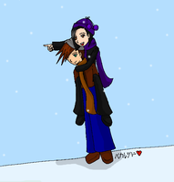 Code: Snow Day-Colored by RikuFanGirl