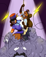 Rachels Used Escape Rope! by Kaboozle