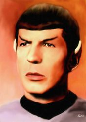 Spock Portrait 2 by karracaz