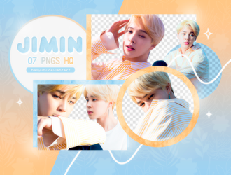 PNG PACK: Jimin #15 by Hallyumi