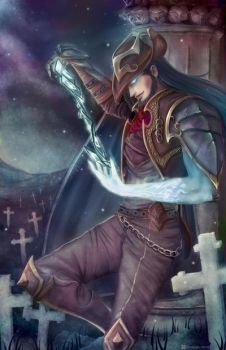 Twisted Fate - Card Master by FalseDelusion