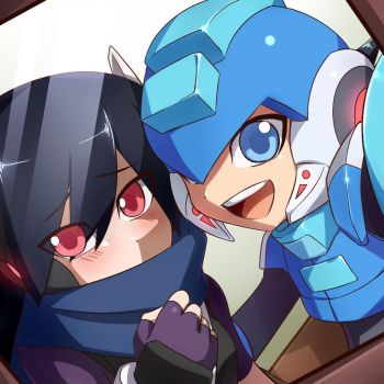 [request]Megaman Neo and Shade by linyuenj