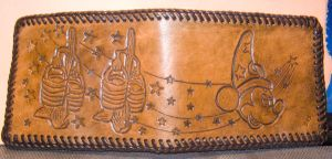 Mickey Leather wallet by Des804