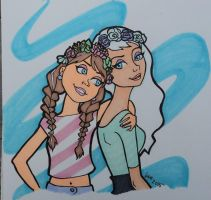 Summer Sisters by happyeverafter