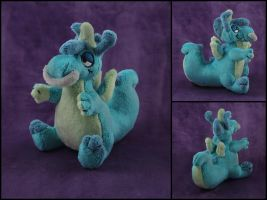 Mini Figment Plushie Commission by WispyChipmunk