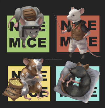 Mice by requiesco