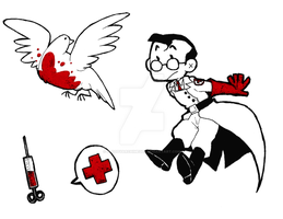 Medical stickers by BloodyArchimedes