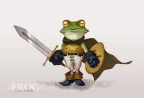 Frog- Chrono Trigger by Ville