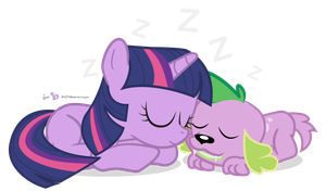 Nap Time with Twily and Spike [!C] by dm29