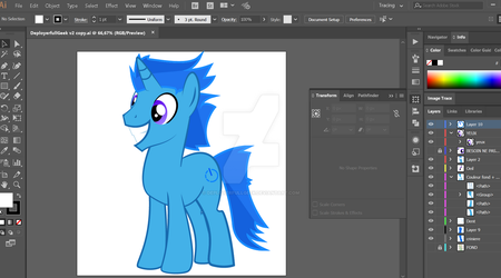 Screenshot de mon oc (WIP) by DeployerfullGeek