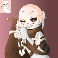 [Request] A2 Search!Sans by BlurryNightSky