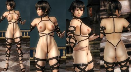 Pai Nude Harness Straps by funnybunny666