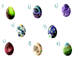 8 Eggs [1 LEFT] by Alises-Adopts