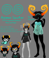 Homestuck Fantroll by CorruptedWhispers