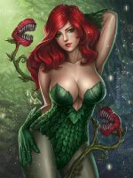 Poison Ivy by denn18art