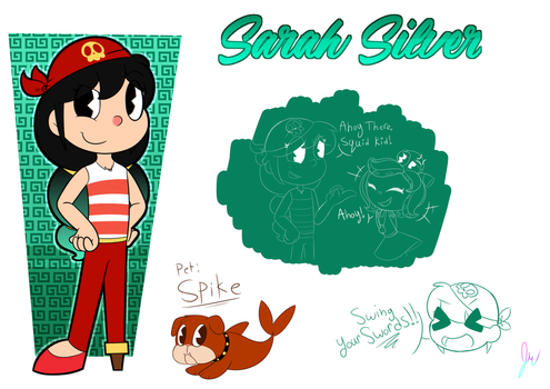 Sarah Silver Ref sheet by 6-O-Hundred657