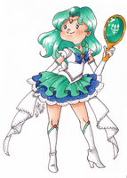 Princess Sailor Neptune by AliceScythe