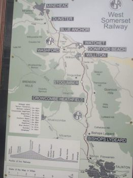 West Somerset railway map by kirk12Lumiere