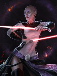 Ventress by HelenKei