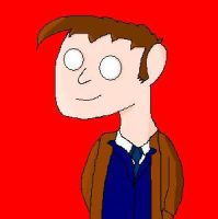 Doctor who cartoon character by David-Tennant-Fans