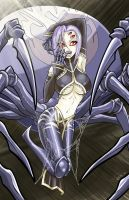 Monster Musume - Rachnera by teamzoth