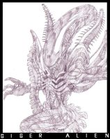 GIGER ALIEN by MobianMonster