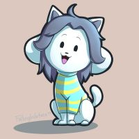 Temmie - Day 9 by FallingWaterx