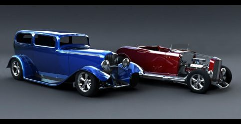 Ford Hot Rods by todd587