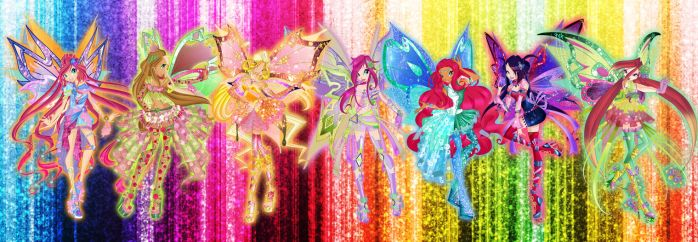 Winx Club All Personix by Dessindu43