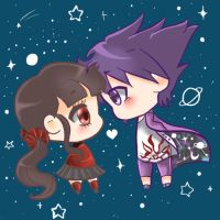 You are my universe... by 13SweetBUNNY13