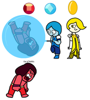 Gemsona #4 The Rainbow Brothers by TheUltimateMagikarp
