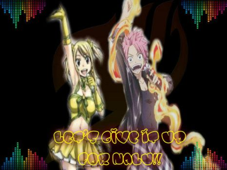 Let's Give It Up For NaLu!! by LilyRose98