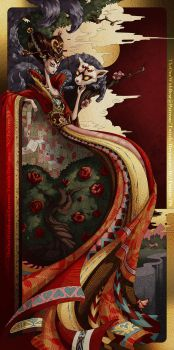 Queen of Hearts (Alice in Wonderland) by TheOneWithBear