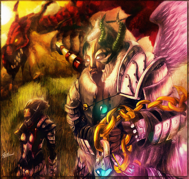 Mithra: The Dragon Sheperds by ihexx