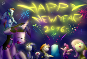 Happy New Year (2016) by PhuocThienCreation