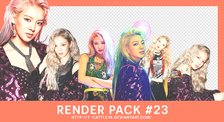 [Share render x Pack #23] Hyoyeon - Holiday Night by t-cattleya