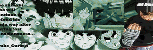 Rock Lee animated sig by Anime-DC