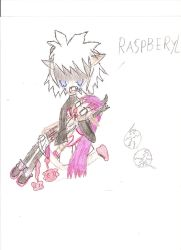 the death of rasberyl by Overlordknives