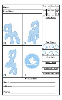 MLP Reference Sheet by KittMouri