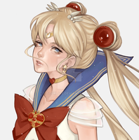 Sailor moon by Sourlive