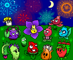 PvZ 2 : Happy New Year (2017) by Gianluca850