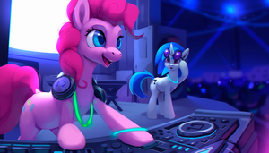 DJ Pinkie Pie by Rodrigues404