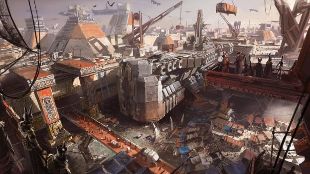Seaport by neisbeis