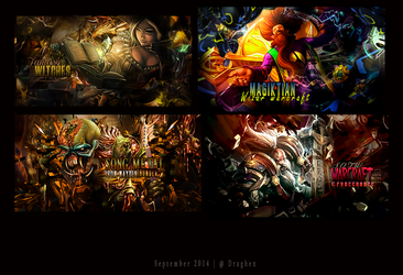 Wall September 2014 by DraghenGFX
